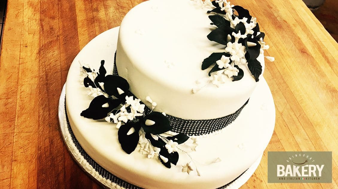 wedding cake or anniversary